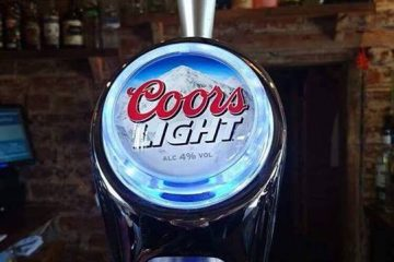 Coors Light at The Coach House