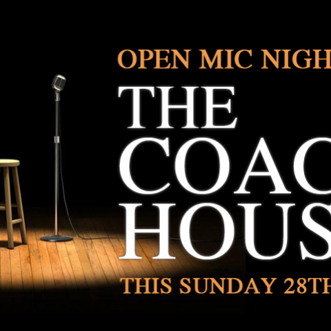 Open Mic Night at The Coach House